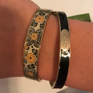 Vera Bradley bangle bracelet set